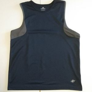 Nordic Track mens blue polyester tank medium